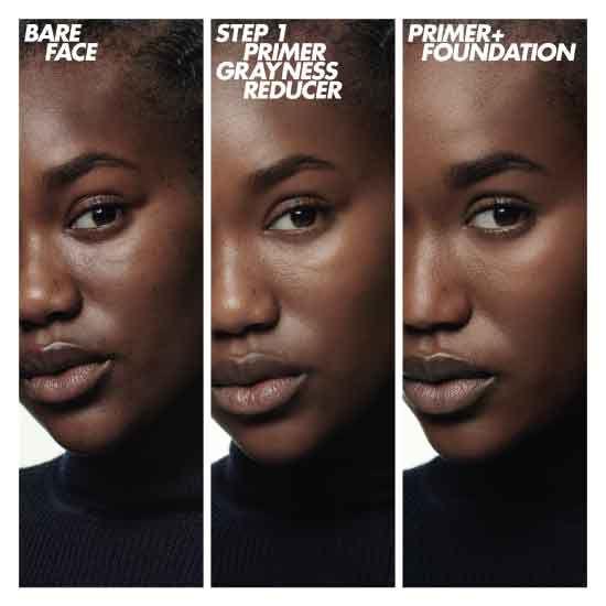 أساس البشرة ستيب وان - لتصحيح لون البشرة الداكنة